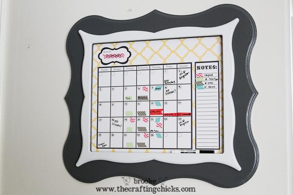 dry erase calendar -3005