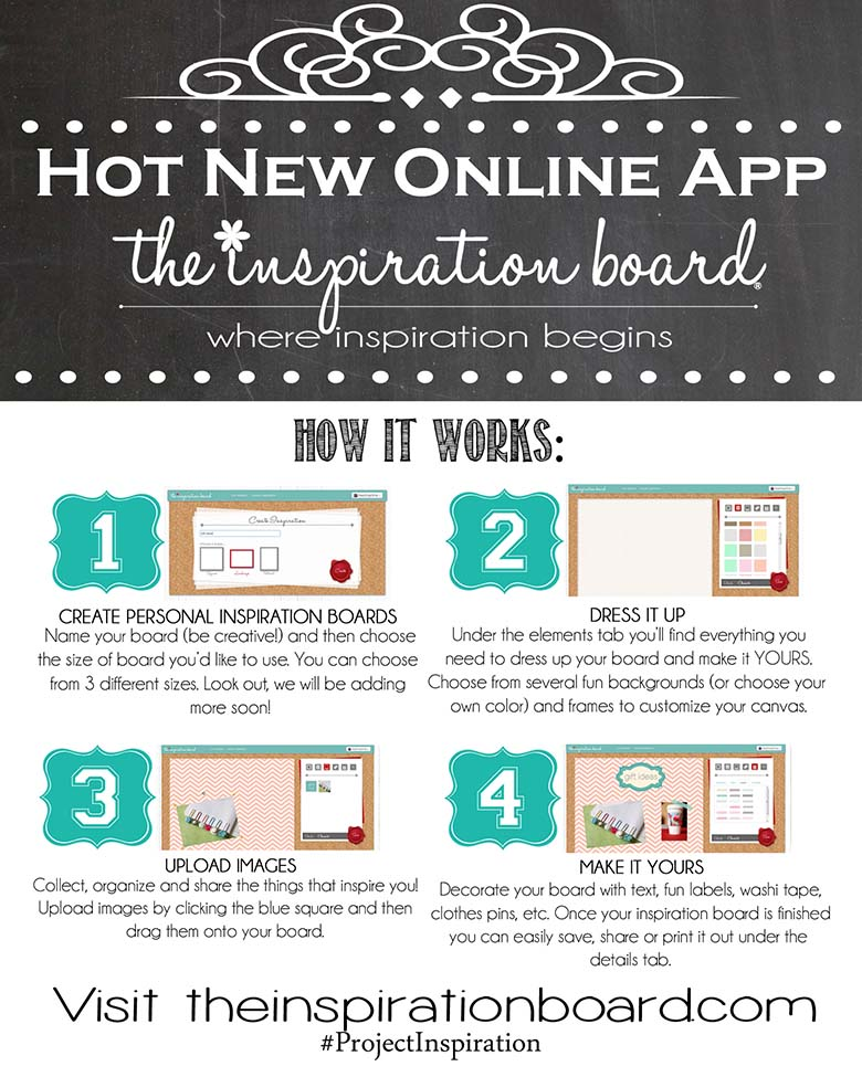 HOT New Online App **FREE**:  The Inspiration Board