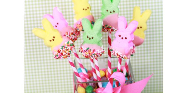 PEEPS Bunny Bouquet *Free Printable Easter Tags