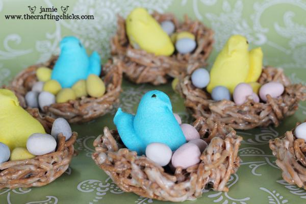 Bird Nest Easter Treats