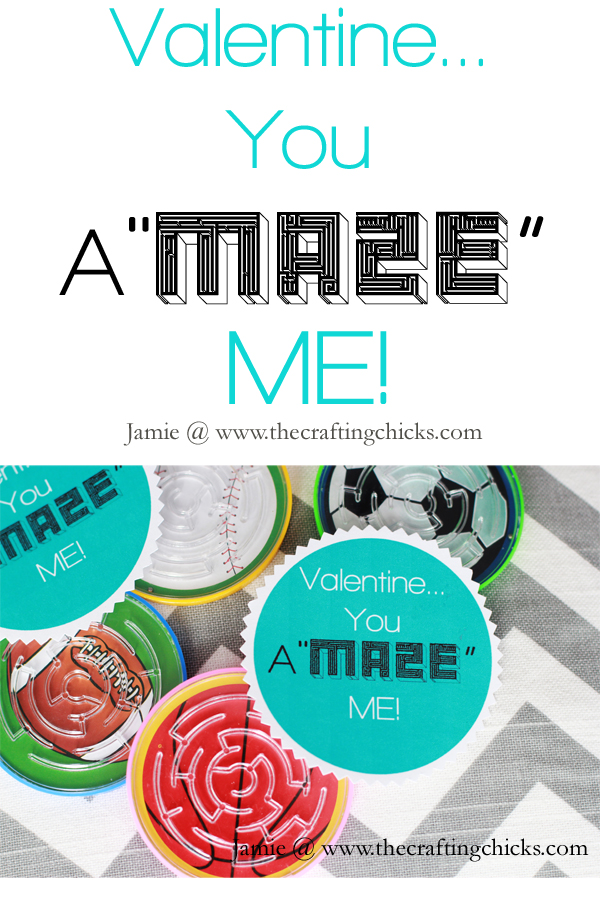 "{Valentine…You A""MAZE"" Me! & Free Printable}"