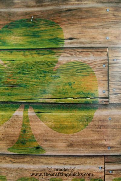 Lucky Shamrock Reclaimed Wood Printable For St Patricks Day The
