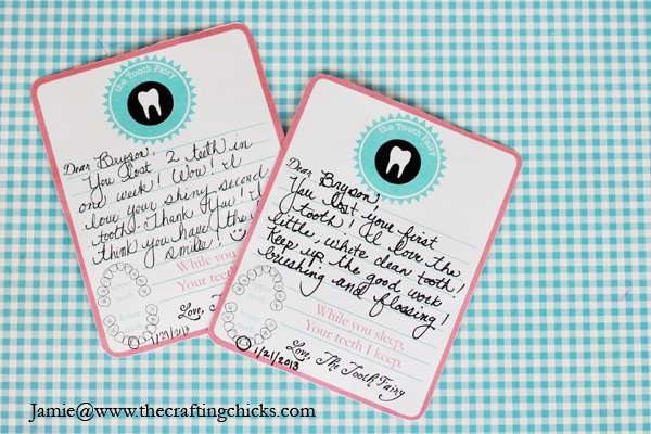 tooth fairy stationery 2 sm