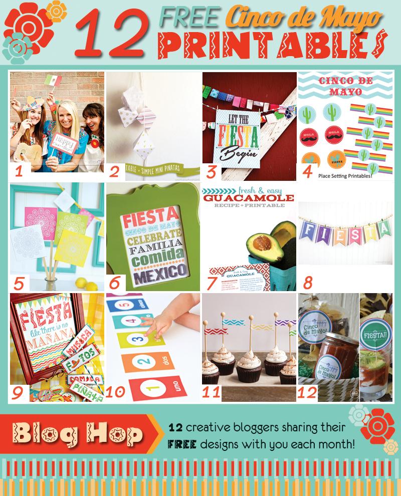 12 free cinco de mayo printables the crafting chicks