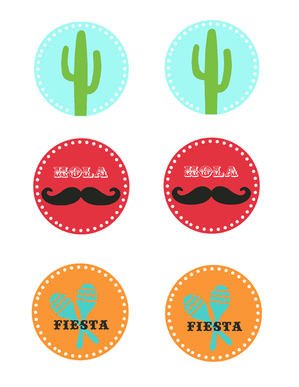 Cinco de Mayo Place Settings Printables