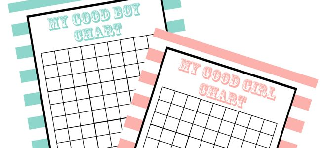 Toddler Incentive Charts Free Printables