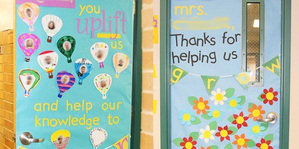 Decorate Your Teacher's Door {Teacher Appreciation Week}
