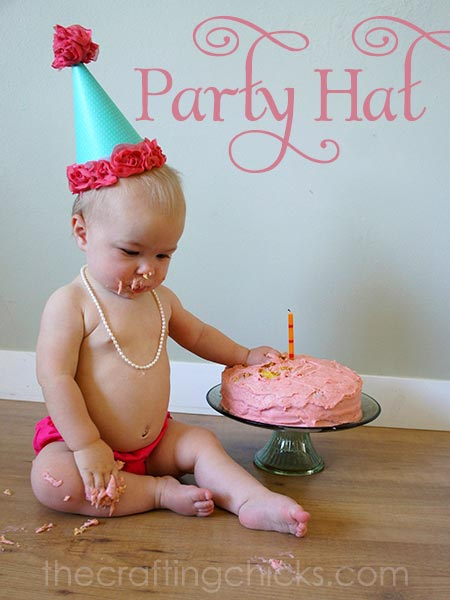 How to Make a Party Hat - including the free template!