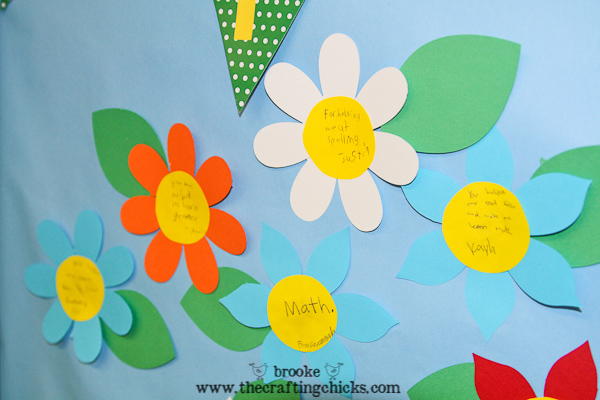 teacher-door-flowers