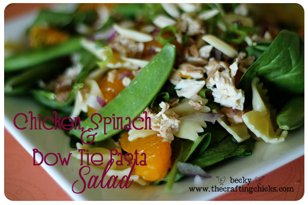 Chicken-spinach-salad