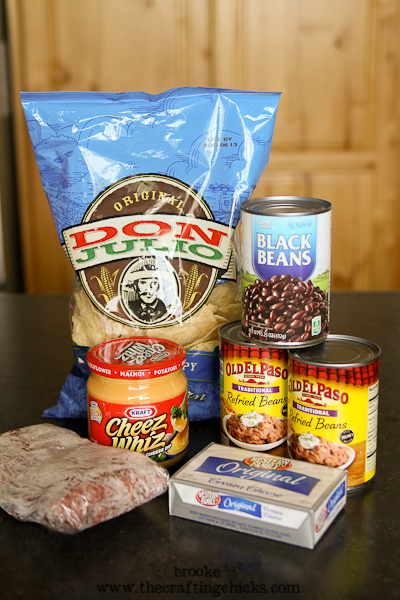 cheesy bean dip ingredients