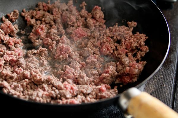 cheesy dip browned hamburger
