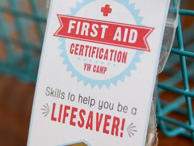 First Aid Certification Handouts {free printable for YW Camp}