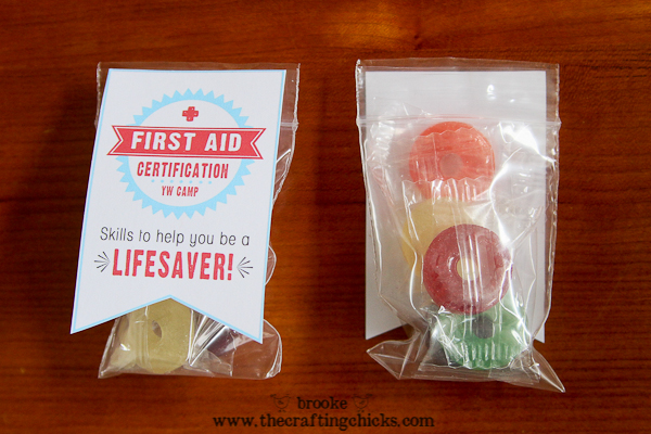 first aid yw camp certification