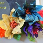 Paper Flowers Inspired by Oz The Great and Powerful
