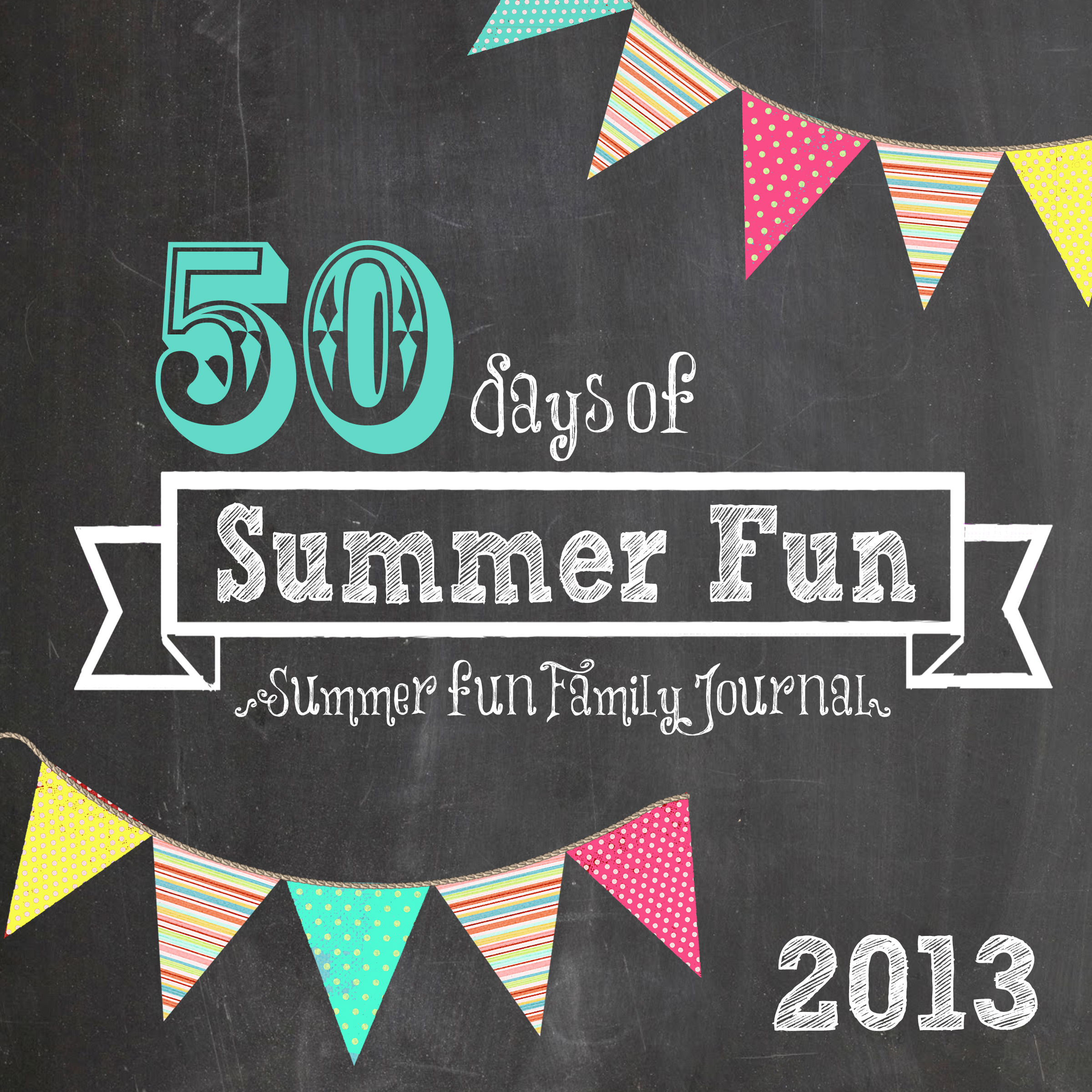 summer fun journal cover 2013