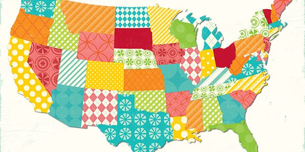 12 Summer Printables: USA Summer Map