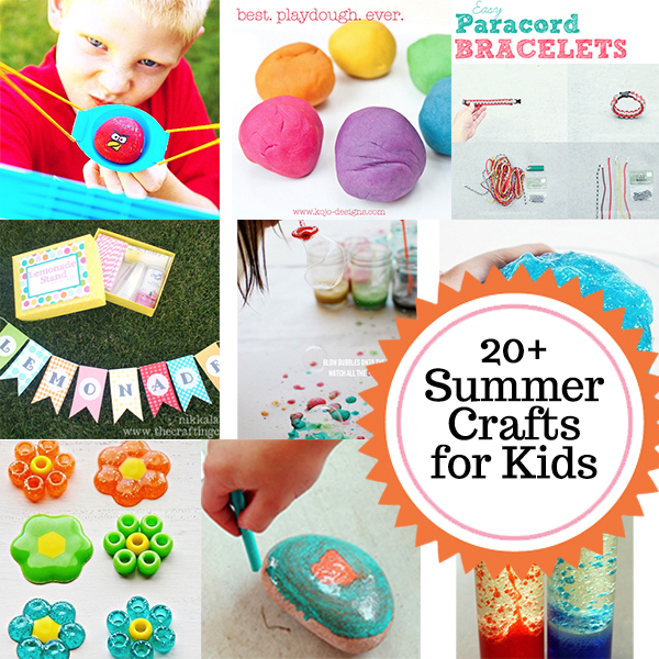 20+ Summer Crafts And Activities For Kids