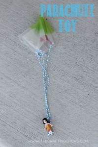 Parachute-toy