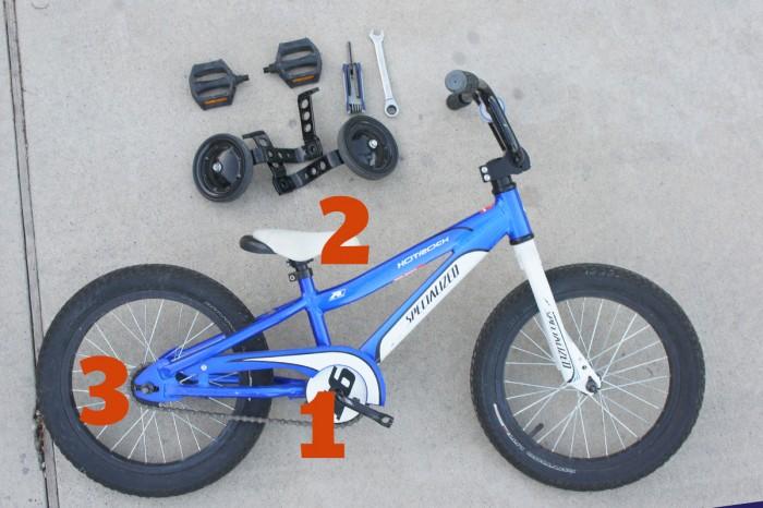 How to make your own balance bike