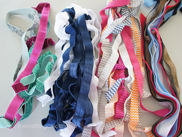 How to Make Elastic Hair Ties - The Crafting Chicks f73ad0f4659