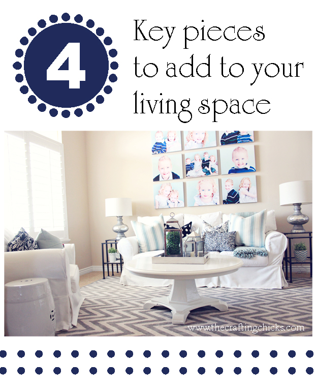 4 key pieces to add to your living space | Home decor