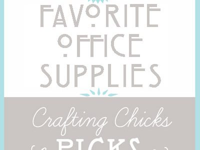 Chicks Picks: Office Supplies