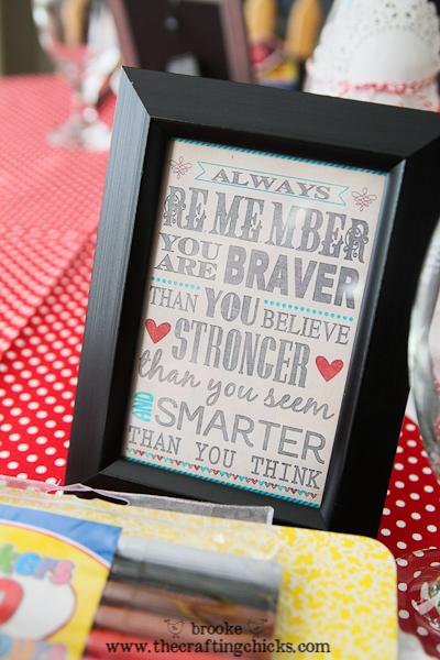 braver stronger smarter framed print