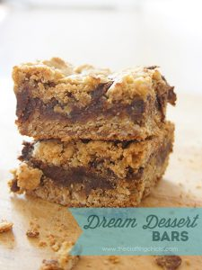 dream dessert bars