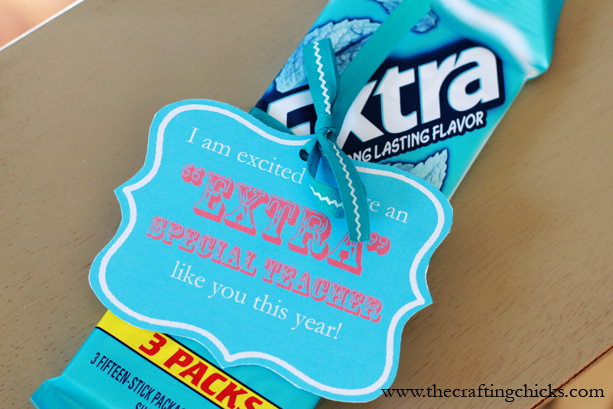 """Extra"" Special Teacher Gift Idea"