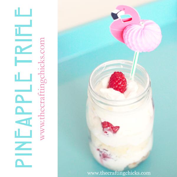 Individual Pineapple Trifle Dessert