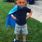 10 Minute Super Hero Costume