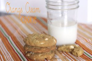 Orange-Cream-cookie