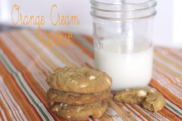 Orange-Cream-cookie