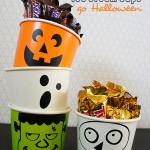 Ice Cream Cups get a Halloween Facelift