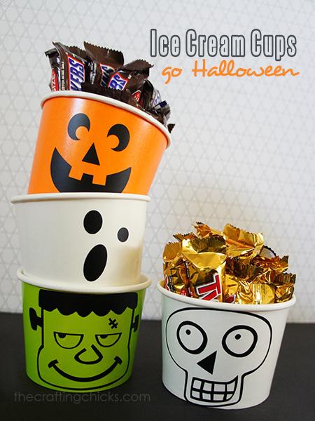 halloween treat tubs