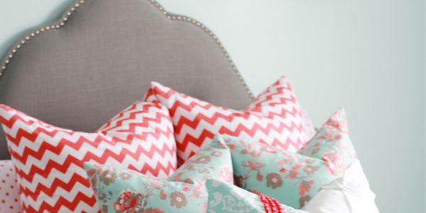 Girl Bedroom Design Part 2-Pillows!