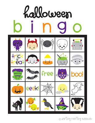 Halloween Bingo Card1