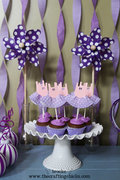 ballet leotard cupcake toppers-10