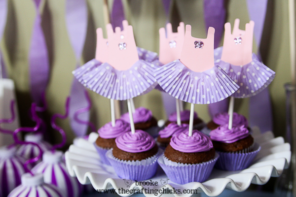 ballet leotard cupcake toppers-7