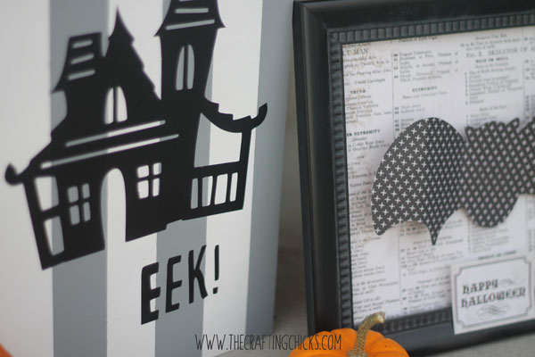 Cricut Halloween decor