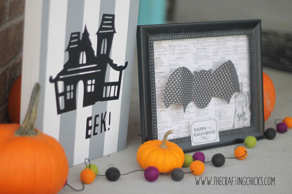 easy halloween crafts using the Cricut