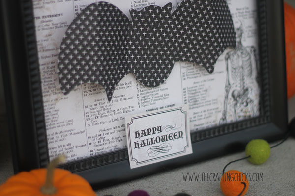 halloween decor bat