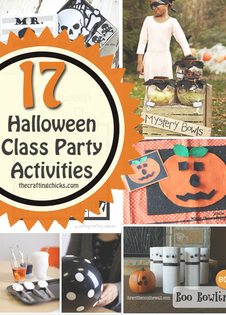 Classroom Birthday Party ~ Halloween activities for class parties
