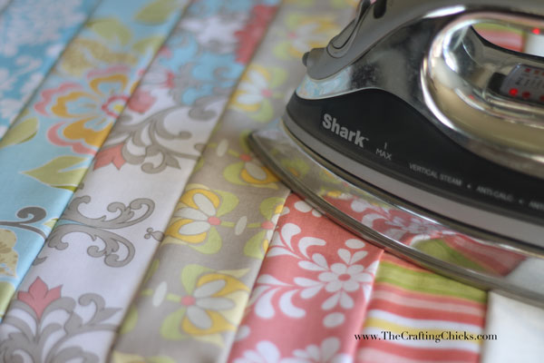 ironing-the-strips