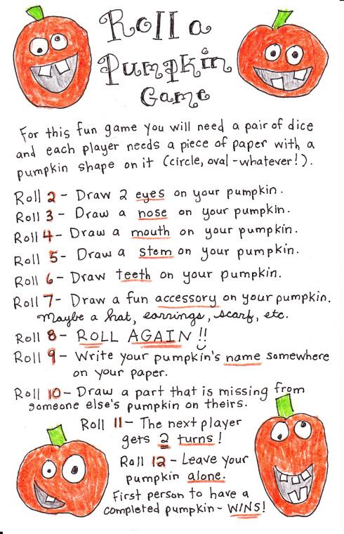 roll-a-pumpkin
