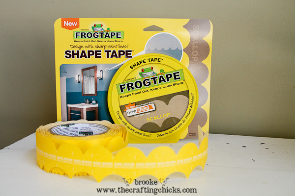 frog tape shape tape scallops