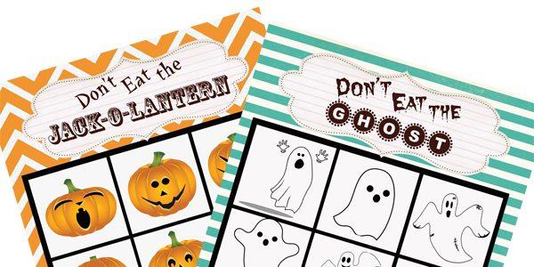 Halloween Class Game Printables