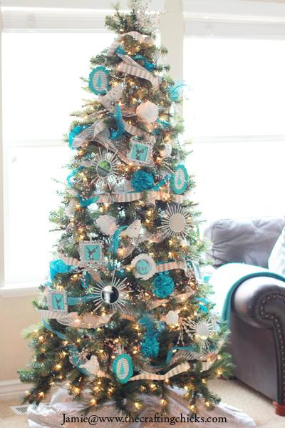 Turquoise Christmas Tree.Michael S Dream Christmas Tree Challenge 2013 Reveal The