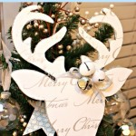Deer Silhouette {Christmas Tradition Series}